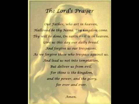 Our Father- The Lord's Prayer- Linda BirdingGround- Dwayne