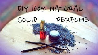 Natural Solid Perfume & Herbal Infused OiL, Lavender-Vanilla In Coconut Oil Thumbnail