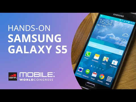 Experimentamos o Samsung Galaxy S5 [Hands-on | MWC 2014]