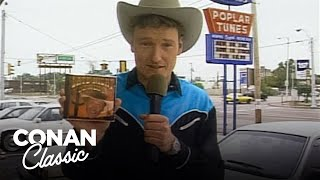 Conan Records A Song In Memphis - Conan25: The Remotes