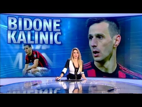 Il Calciobidone 2018 Kalinic del Milan | «Sport Mediaset» del 09/01/2019