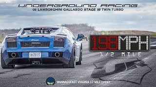 Eric's Underground Racing TT Gallardo At WannaGoFast VA