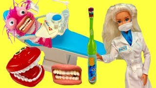 Phoebe Visits  Barbie Dentist