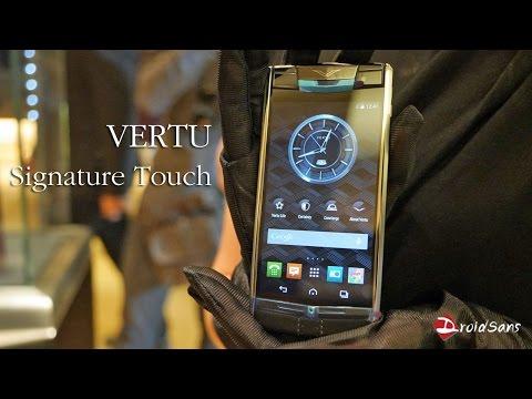 มินิรีวิว Vertu Signature Touch ที่สุดแห่งความหรูหรา