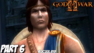 GOD OF WAR 2 GAMEPLAY WALKTHROUGH PART 6 PERSEUS BOSS FIGHT - PS3 LET'S PLAY