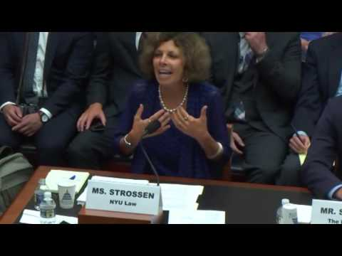 NYU Law Professor Nadine Strossen Tells Congress That There Is No Such Thing As Hate Speech