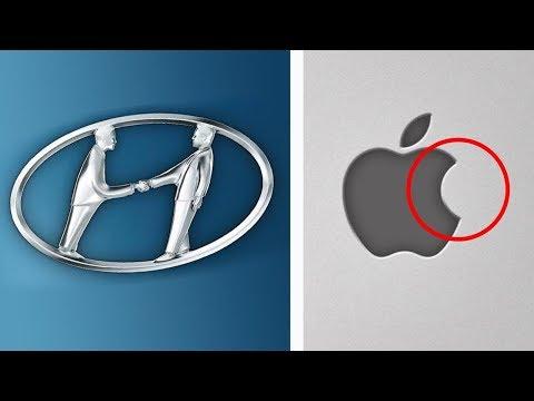 10 Geheimnisse - die in bekannten Logos versteckt sind!