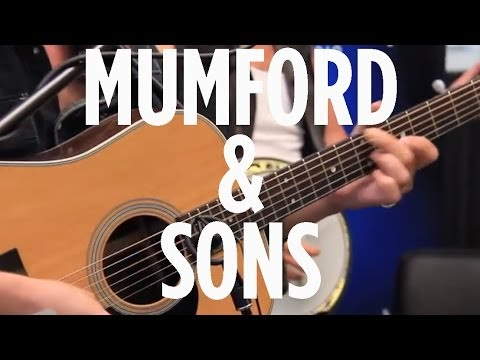 "Mumford & Sons ""Whispers In The Dark"" LIVE on SiriusXM The Spectrum"