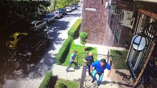 Взрыв в центре Бишкека