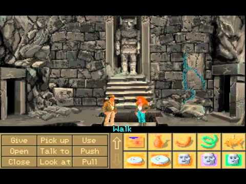 Indiana Jones and the Fate of Atlantis LongPlay Part 1