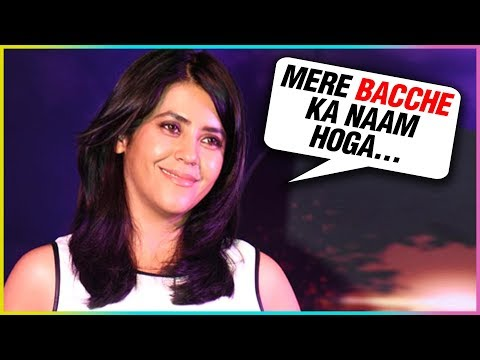 Ekta Kapoor REVEALS Name Of Her Baby Boy | Anita Hassanandani, Ktitika Kamra Congratulated