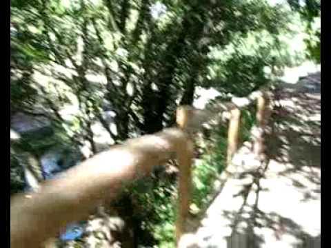 Las piscinas naturales de casas del monte caceres youtube for Piscinas naturales hoyos caceres