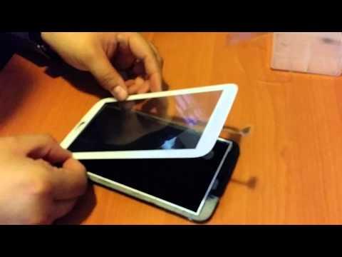"Samsung Galaxy Tab 3 7"" Reemplazo cristal."