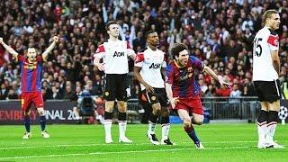 ברצלונה נגד מנצ'סטר יונייטד ● גמר ליגת האלופות 2011 ● משחק בלתי נשכח!