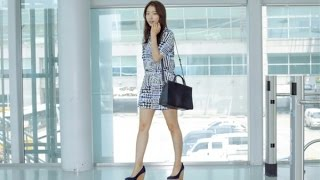 Video Park Shin-hye was Spotted  at Airport on her way to Channel's 2016 SpringSummer in Paris download MP3, 3GP, MP4, WEBM, AVI, FLV Agustus 2018