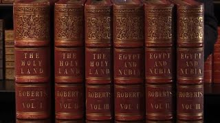 The Holy Land, Syria, Idumea, Arabia, Egypt and Nubia, David Roberts. First Editions 1842-1849.