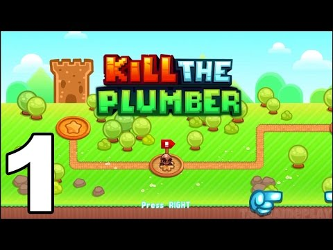 Kill the Plumber World - Gameplay Walkthrough Part 1 - World 1: Levels 1-12 (iOS, Android)