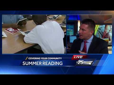 Palm Beach Co. school district summer reading program