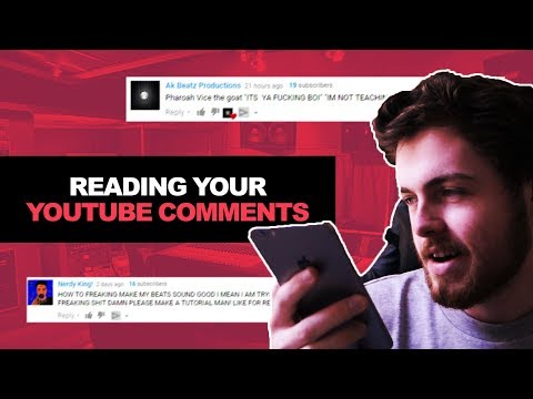 READING YOUTUBE COMMENTS FROM SUBSCRIBERS (EP. 1) | Internet Money