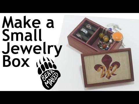 Make a Small Jewelry Box - DIY