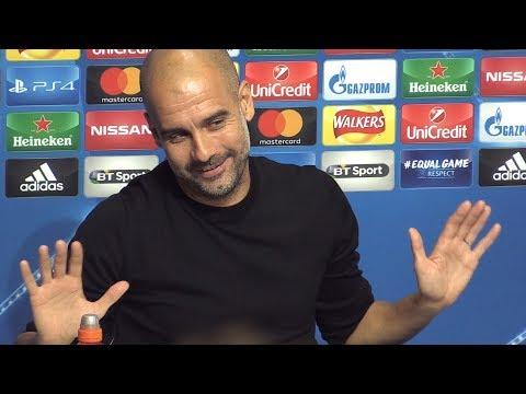 Pep Guardiola Full Pre-Match Press Conference - Manchester City v Napoli - Champions League