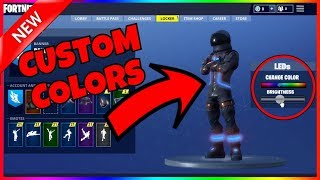 CUSTOMIZE Fortnite Skins And COLORS In Fortnite Battle Royale