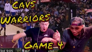 Cleveland Cavaliers vs Golden State Warriors Game 4 Full Game Highlights 2017 NBA Finals REACTION