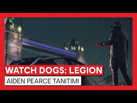 Watch Dogs : Legion - Aiden Pearce Tanıtımı