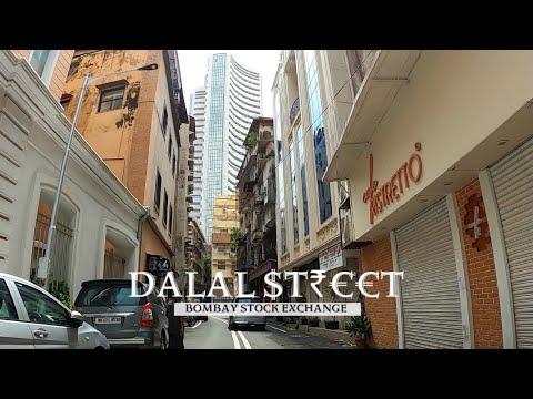 Dalal Street | 4K Drive in India's Wealthiest locality | Kala Ghoda | Fort | Bombay Stock Exchange