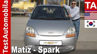 Chevrolet (Daewoo) Matiz-Spark 1.0 TEST