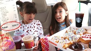 Letting The Person In FRONT Of Us DECIDE What We EAT For 24 Hours!