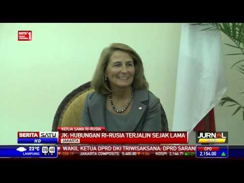 JK: Rusia Berkomitmen Bangun Jalur KA dan Pabrik Alumina