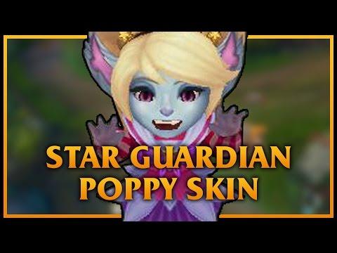 Star Guardian Poppy LoL Custom Skin ShowCase