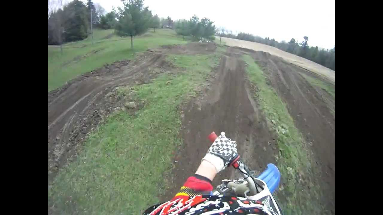 Backyard Mx Track GoPro - YouTube