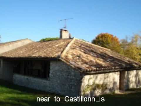 Property For Sale in the France: near to Castillonns Aquitai