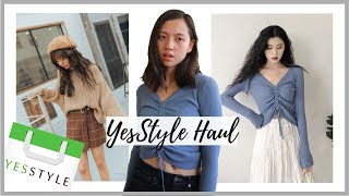 YesStyle Try On Haul + How to Shop on YesStyle | Korean fashion clothing haul & review