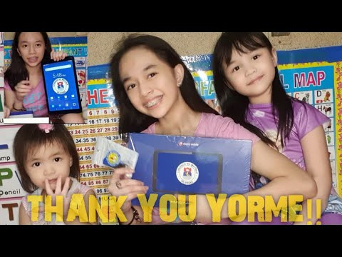 UNBOXING MANILA LEARNING TABLET|THANK YOU YORME!!| D' TRES MARIA'S VLOGS