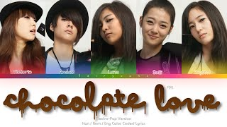 f(x) (에프엑스) Chocolate Love (Electropop Version) Color Coded …