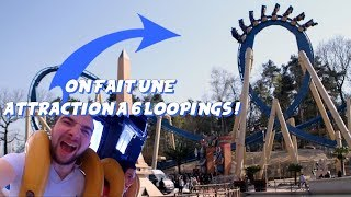 ON FAIT UNE ATTRACTION A 6 LOOPINGS !