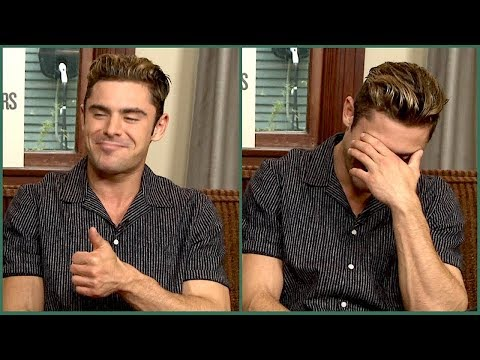"""Zac Efron: on his """"homosexual"""" moment with The Rock, taking his shirt off - and crazy diets..."""