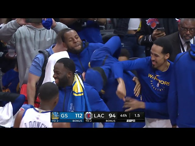Golden State Warriors vs Los Angeles Clippers | January 18, 2019