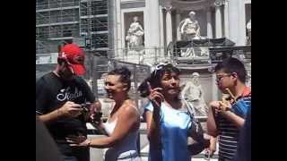Why do you throw coins to Trevi Fountain?