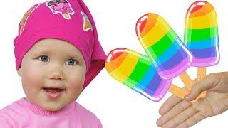 Color Rainbow Song Песенка для детей Развивающие песенки для детей