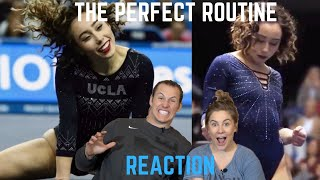 Olympic Champion Reacts to Katelyn Ohashi's Perfect  10.0 Routine | Shawn Johnson