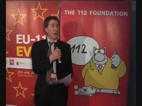 EU112 event in Murcia - John Medland - British Telecom - United Kingdom