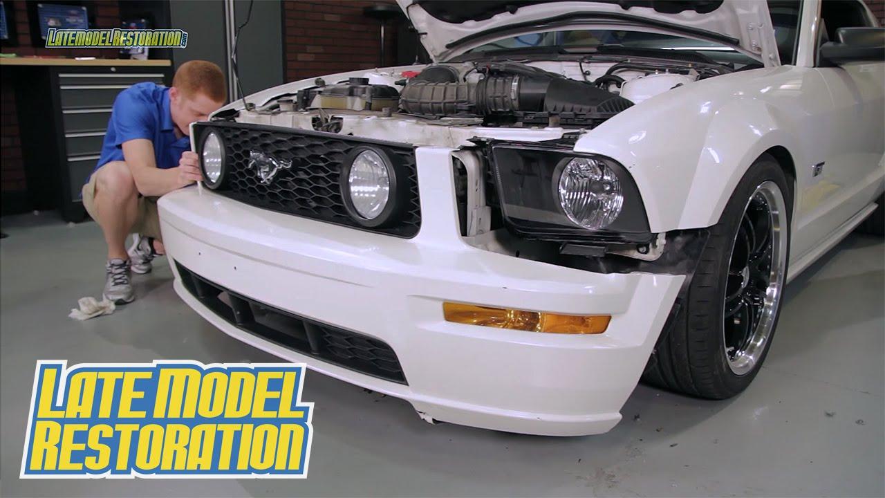 Mustang Sve Headlight Led Bulb Kit Install 2005 09