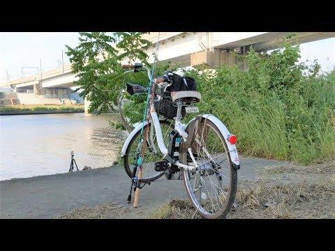 【釣り・Fishing】荒川、戸田橋付近でブラックバス釣り@Hello Cyclingで電動アシスト自転車を借りての釣行,Pixel 3 XLで撮影【VLOG】