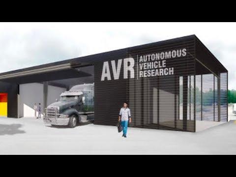 Auburn Debuts Sophisticated New Autonomous Vehicle Research Facility