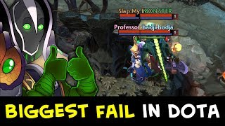 Biggest Fail possible in Dota — epic Rubick + Tiny cliff strat