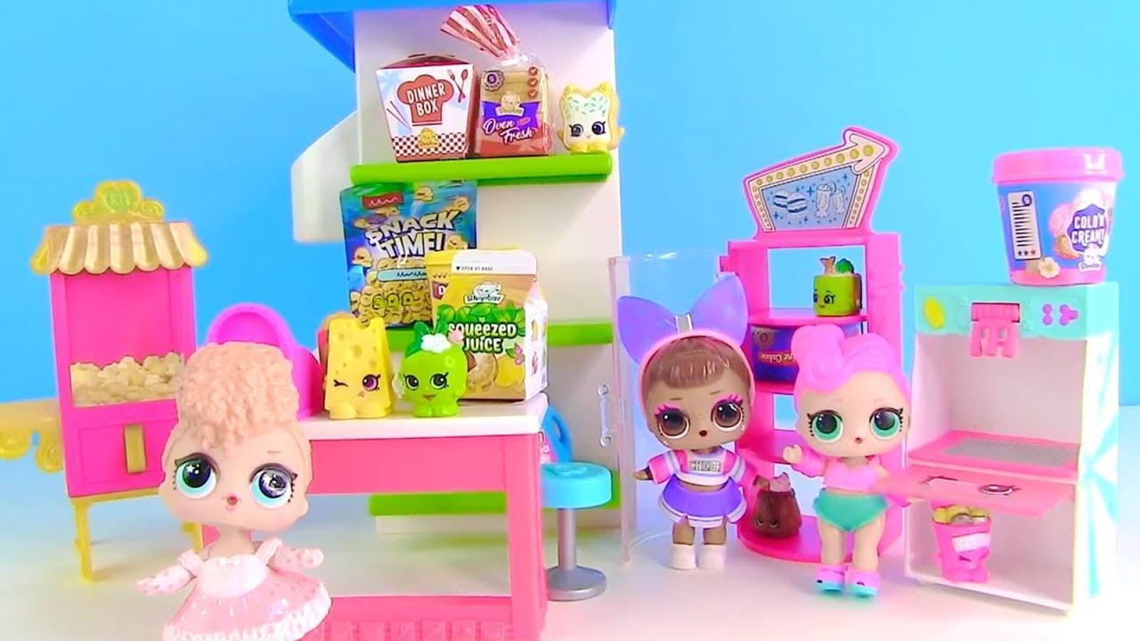 Куклы Лол Мультик! Сестры Лол в Супермаркете Шопкинс! Lol ...